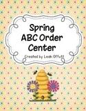 ABC Order-Spring Theme