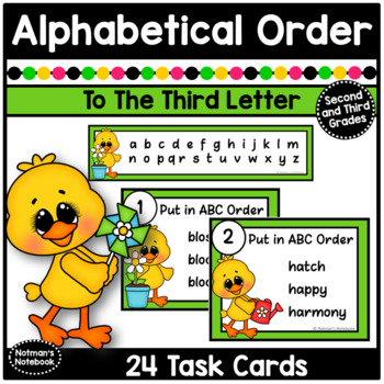 ABC Order - Spring Theme