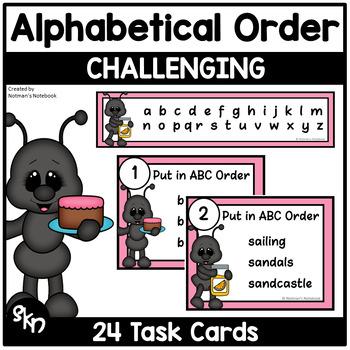 ABC Order - Summer Theme