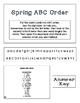 ABC Order Task Cards: Four Seasons Bundle