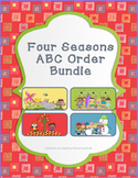 ABC Order Task Cards: Four Seasons Bundle