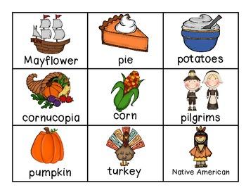 ABC Order {Thanksgiving}
