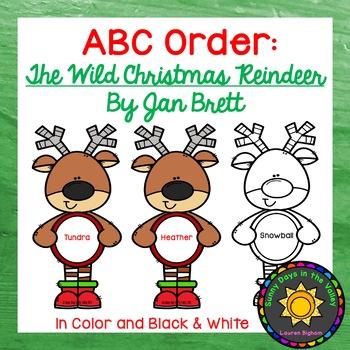 ABC Order: The Wild Christmas Reindeer