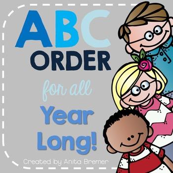 ABC Order (Through the Year)