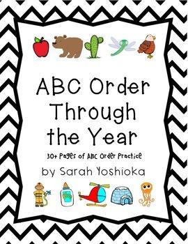 ABC Order Through the Year