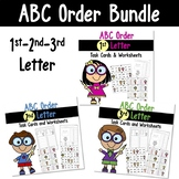 ABC Order to the 1st, 2nd, and 3rd Letter Bundle