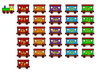 ABC Order - Train Theme