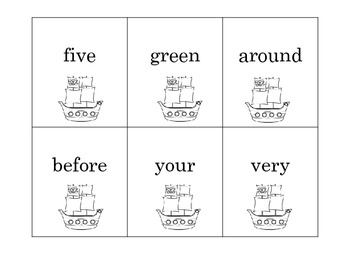 ABC Order K-2 Differentiated Word Lists