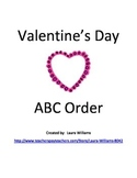 ABC Order-Valentine's Day