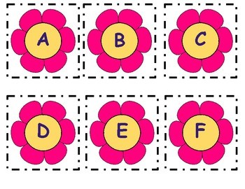 ABC Order, Vowels and Consonant Sort, and Capital and Lowercase Match Cards