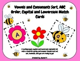 ABC Order, Vowels and Consonant Sort, and Capital and Lowe