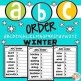 ABC Order WINTER - Alphabetical order