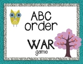 ABC Order War Game