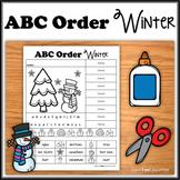 ABC Order - Winter - NO PREP