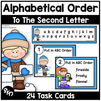 ABC Order - Winter Theme