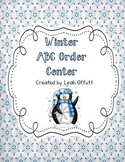 ABC Order-Winter Theme