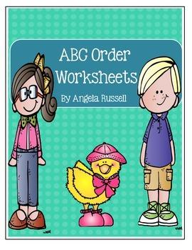 ABC Order ~ Worksheets