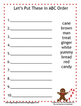 abc order worksheets christmas winter grinch theme tpt. Black Bedroom Furniture Sets. Home Design Ideas