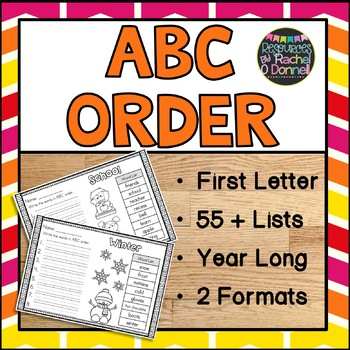 ABC Order Year Long