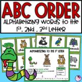 ABC Order Zoo Fun