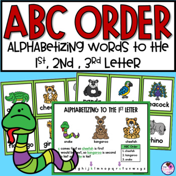 ABC Order Zoo Fun
