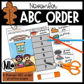 ABC Order for November