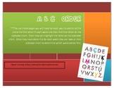 ABC Order (alphabetizing packet)