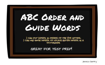 ABC Order and Guide Words
