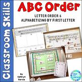 ABC Order 1st letter