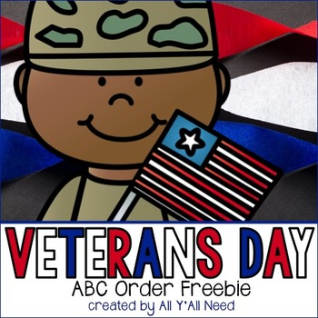 ABC Order for Veterans Day [freebie]