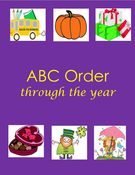 ABC Order throughout the Year