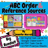 ABC Order to 1st, 2nd, & 3rd Letter AND References Digital