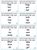 ABC Order to first and second letter - Gr. 1