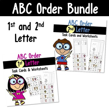 ABC Order to the 1st and 2nd Letter Bundle