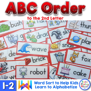 ABC Order to the 2nd Letter FREEBIE