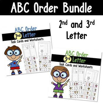 ABC Order to the 2nd and 3rd Letter Bundle
