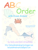ABC Order with Ocean Animals