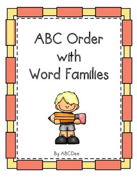 ABC Order with Word Families