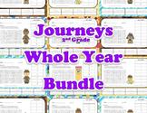 Journeys Aligned Vocabulary - 2nd Grade - Year Long Bundle