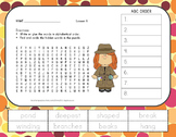 Journeys 2nd Grade Vocabulary - ABC Order with Word Search