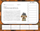 Journeys 2nd Grade Vocabulary - ABC Order with Word Search - Unit 4 Bundle
