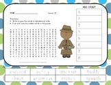 ABC Order and Word Search - Officer Buckle and Gloria - Jo