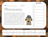 ABC Order and Word Search - The Signmaker's Assistant - 2nd Grade Lesson 19