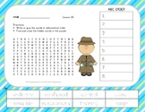 ABC Order and Word Search - The Mysterious Tadpole - 2nd G