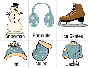 ABC Order with a Winter Theme