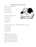 ABC Order/Guide Words Worksheet Packet