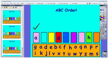 ABC Ordering!
