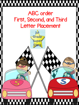 ABC Ordering (First, Second, and Third Letter)