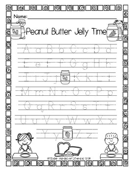 ABC PB&J Match Up