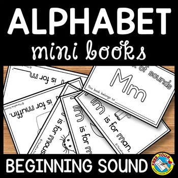 KINDERGARTEN ALPHABET BOOKS PRINTABLES (ABC EMERGENT READERS)